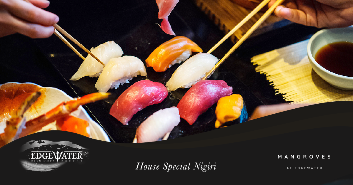 Experience our 'House Special Nigiri'