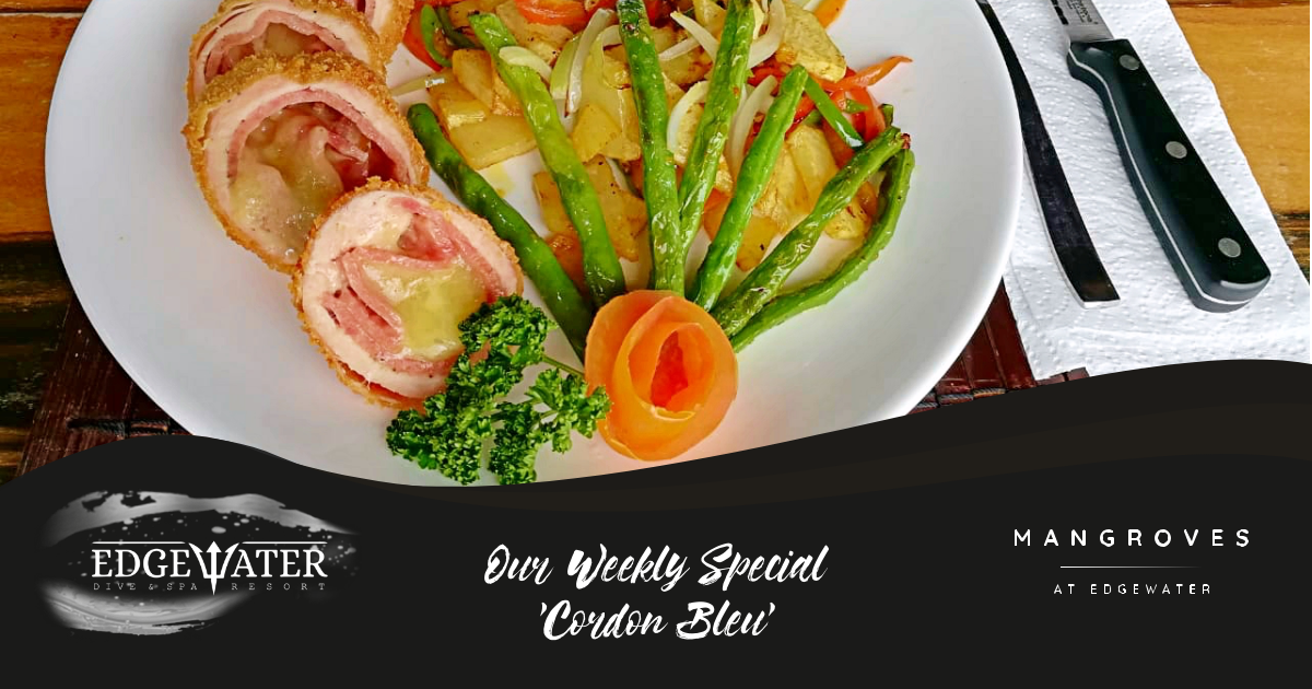 Try our Cordon Bleu this week!